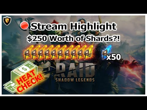 RAID Shadow Legends | Stream Highlight | $250 Summon Rush!
