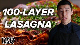 100-Layer Lasagna Challenge: Behind Tasty width=