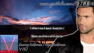 Maroon 5 - Leaving California HD Video Subtitulado Español English Lyrics