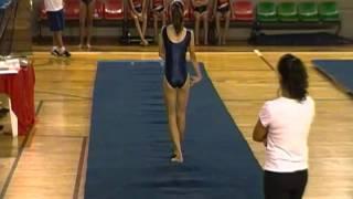 UFMG ginastica artistica Sara Noronha solo