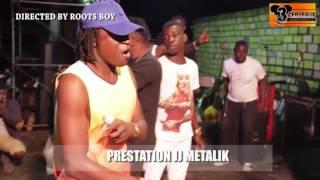 PRESTATION DE JJ METALIK  AU CONCERT LIVE DE DJ LEO AU NPA
