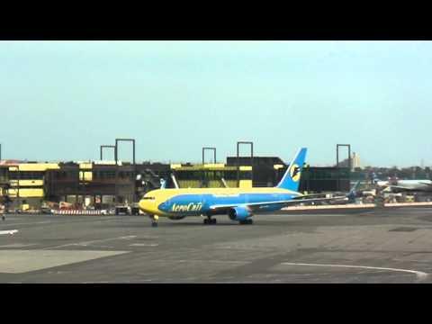Terminal 4 JFK featuring KLM, Ukraine, Aer Lingus, & Delta Planes by jonfromqueens