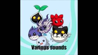 Various Baby digimon sounds