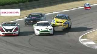 Continental Tire Sports Car Challenge Barber Race Highlights