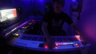 M-Audio Code 61 live looping FL Studio - Code Ultraviolet [GoPro Hero]