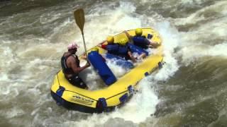 Rafting Marco, Douglas, Leticia, Marquinhos, Milena e Amanda