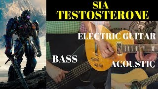 Sia - Testosterone (Transformers 5: The Last Knight) - Guitar Cover by Amos Wong