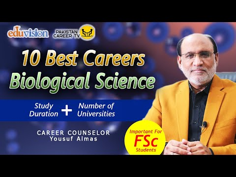 10 Best Careers in Biological Science | Complete Guidance | Career Counselling | Yousuf Almas