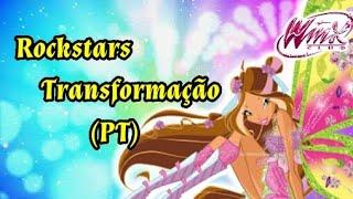 WINX ROCKSTARS BELIEVIX TRANSFORMAÇÃO(PT)
