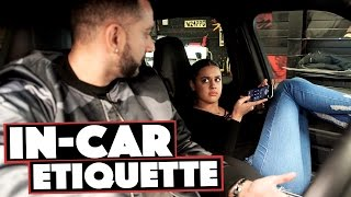 In-Car Etiquette