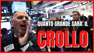 Il target (al ribasso) dell'S&P 500 Index americano