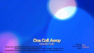 One Call Away - Charlie Puth Karaoke