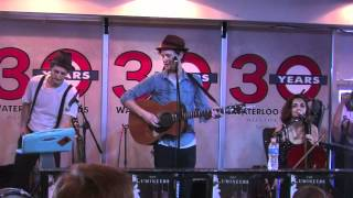"""The Lumineers """"Flapper Girl"""" at Waterloo Records in Austin, TX"""