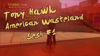 Set Steps: Tony Hawk American Wasteland - BMX Sesh #1