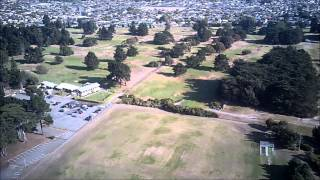 RC Plane Aerial Video - New Brighton, Christchurch