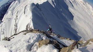 Val d'Allos : free ride depuis l'observatoire