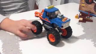 Обзор на набор 60180 монстр трак   lego city 60180 monster truck