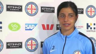 Alex Chidiac speaks to the Club ahead of her first Grand Final