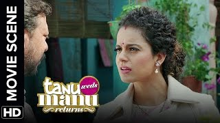 Look whose razor sharp | Tanu Weds Manu Returns | Movie Scenes