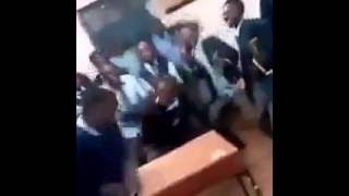 Nairobi High school teen video leaked as they act evil in school!WHAT A SHAME