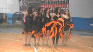 Dança Can Can/ Alunas Colégio Escalada Objetivo