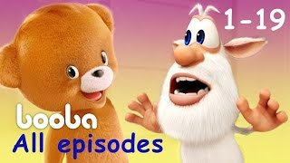 Booba - All Episodes Compilation (19 -1) Funny cartoons for kids буба 2017 KEDOO animation for kids