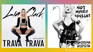 LIA CLARK x CHRISTINA AGUILERA | TRAVA TONIGHT #MASHUP