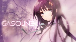 「Nightcore」→ Gasoline (Clean) (Lyrics)
