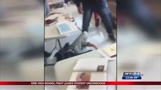 Violent School Fight, Erie High School