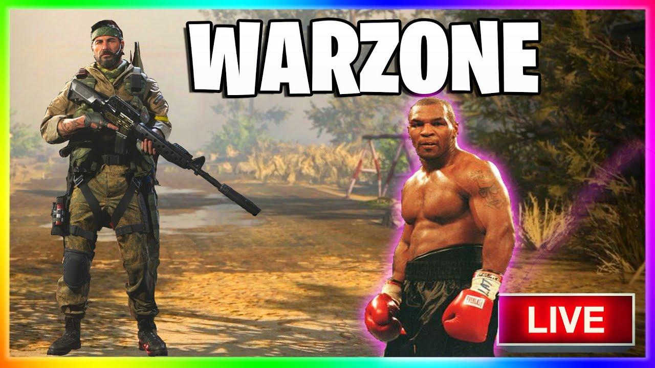 MrSoldier1HD - PUNCH HIM OUT   COD Modern Warfare Warzone LIVE