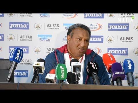 Video : Déclarations d'après match AS FAR - FUS