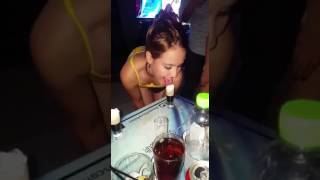Hot girls are drinking shots like a blowjob - very sexy width=