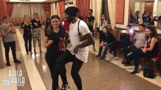 TONY PIRATA & ESPERANZA [Kizomba] ★ Baila Que Baila Stage 2016 ★