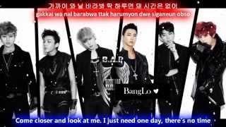 B.A.P Spy [Eng Sub + Romanization + Hangul] HD