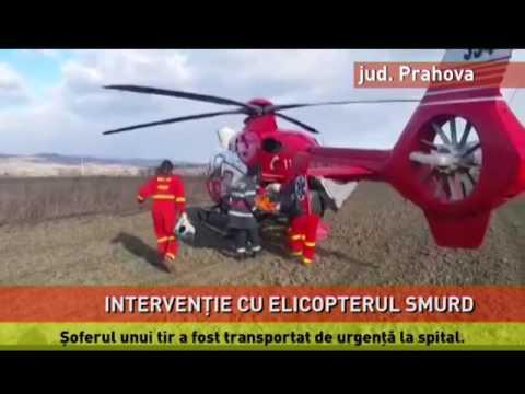 Intervenţie cu elicopterul SMURD
