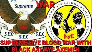 DEAD BODIES, CULTIST WAR BLACK AXE AYE AXEMEN VS SUPREME EIYE CONFRATERNITY IN BENIN CITY EDO STATE