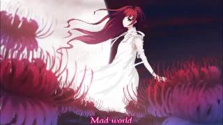 Nightcore - Mad world