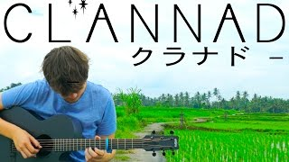 Clannad ED - Dango Daikazoku - Fingerstyle Guitar Cover