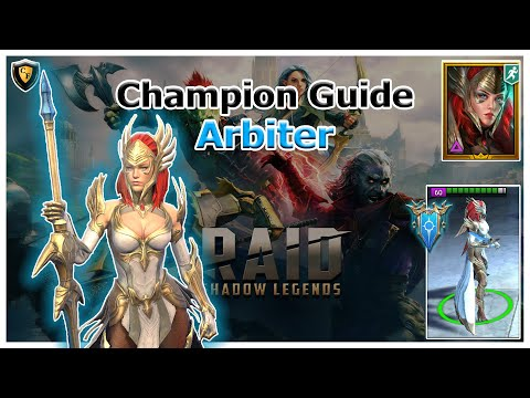 RAID Shadow Legends | Champion Guide | Arbiter