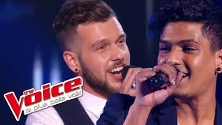 The Voice 2016 | Claudio Capeo VS Laurent Pierre - Mathilde (Jacques Brel) | Battle