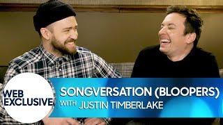 Songversation with Justin Timberlake (Bloopers)