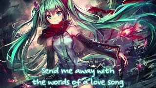 Nightcore - If I Die Young (Rock Version) || Lyrics「The Band Perry」