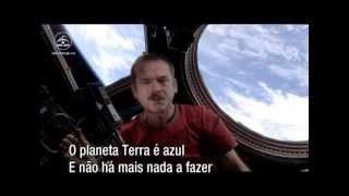O 1º videoclip feito no espaço