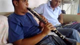 Solo de clarinete Noé Álvarez el manicero, perla azul y tecatiando