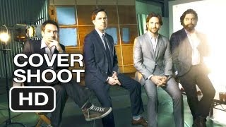 The Hangover Part III Cover Shoot - Hollywood Reporter (2013) - Bradley Cooper Movie HD