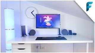 Ecco il mio nuovo MINIMAL Desk Setup!