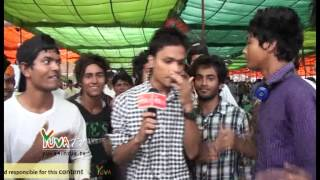 Rap Song by Flash Mob during Bijli Andolan at Ramlila Maidan