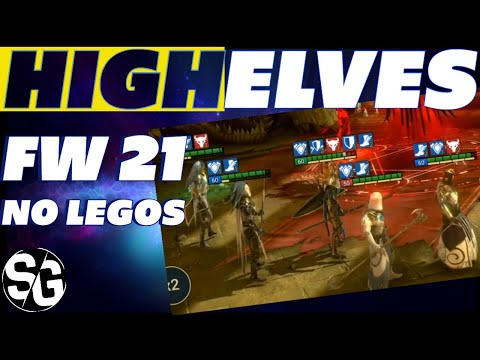 FW 21 HIGH ELVES NO LEGOS EASY 3 STAR | RAID SHADOW LEGENDS