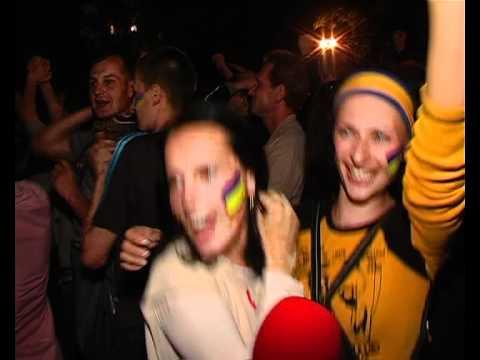 Фінал переможного матчу | Ukraine champion: singing fans