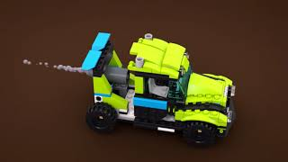 LEGO CREATOR - 31074 Auto da rally Rocket